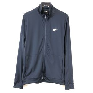 Nike Women's Lightweight Athletic Black Jacket
